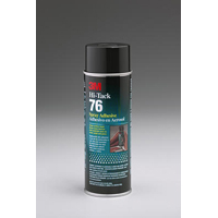 3M Hi-Tack 76 Spray Adhesive, Clear, 18.1-Ounce