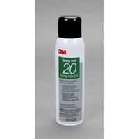 3M Heavy Duty 20 Spray Adhesive Clear, 20 fl oz can