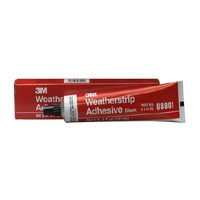 3M 08001 Yellow Super Weatherstrip and Gasket Adhesive Tube - 5 oz