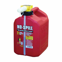 GAS CAN 2.5GL RED PL NO-SPILL