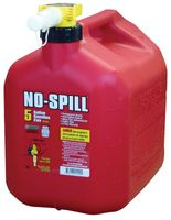 GAS CAN 5GL RED PL NO-SPILL