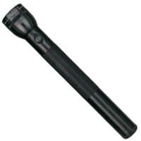Maglite S4D016 Heavy-Duty 4-D Cell Flashlight, Black