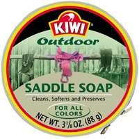 Kiwi Saddle Soap, 3-1/8 oz