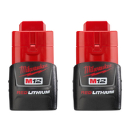 Milwaukee M12 REDLITHIUM Compact Battery 2-Pack 48-11-2411