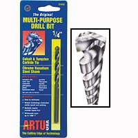 Artu 01050 3/8 x 5-3/16 Multipurpose Drill Bit