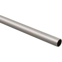 #8182 6-FT SAT NICKEL CLOSET ROD