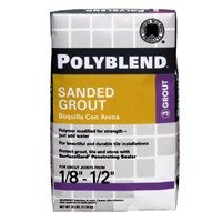 TILE GROUT SANDED WHITE 25#BG