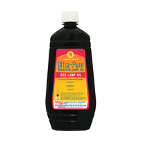 LAMP OIL RED UNSCENTED 32OZ