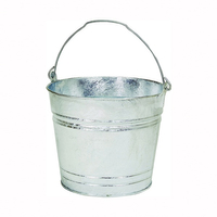 WATER BUCKET HD GALV 12QT