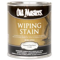 OM WIPE STAIN NATURAL QT