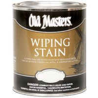 Old Masters 11116 Wiping Stain, Natural, 1/2 pint