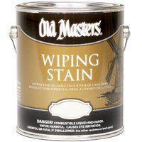 Old Masters 11401 Wiping Stain, Red Mahogany, 1 Gallon