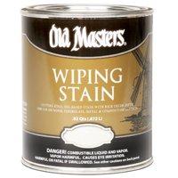 Old Masters 11804 Wiping Stain, Dark Mahogany, 1 quart