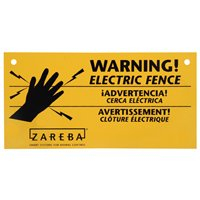SIGN 4X8 ELECTRIC FENCE PK/10*D*