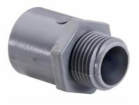 PVC CONDUIT MALE CONNECTOR 1-1/2