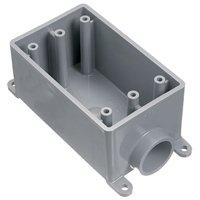 ELECTRICAL BOX W/P PVC FSE 1-3/4