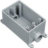 ELECTRICAL BOX W/P PVC FSC 2-1/2