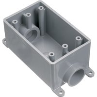 ELECTRICAL BOX W/P PVC FSC 2-3/4