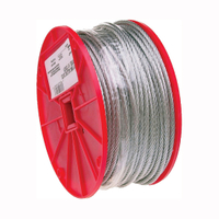 CABLE UNCOATED 3/16""