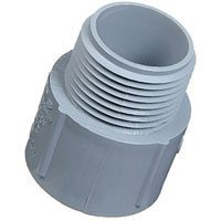 PVC CONDUIT MALE CONNECTOR 1""