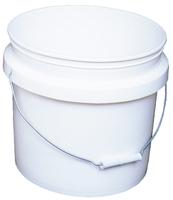 PLASTIC BUCKET 3.5-GAL WHITE