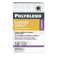 Tile Grout Sanded White, 7-lb