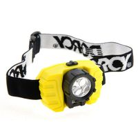 HEADLIGHT 3 LED W/BATT DORCY
