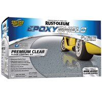 Rust-Oleum Epoxyshield Premium Clear Floor Coating Kit