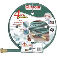 Gilmour 15 Series 4 Ply Reinforced Vinyl Hose 5/8 Inch x 100 Feet 15-58100 Green