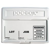 DOC-BOX PERMIT POSTING BOX