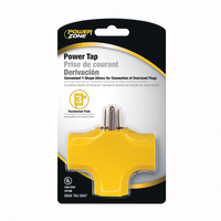 3-OUTLET Yellow MOLDED TAP 1/CD