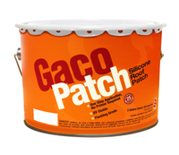 GACO SILICONE ROOF PATCH WHT 2GL