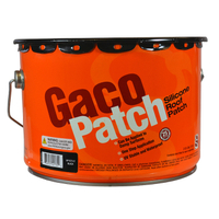 GACO SILICONE ROOF PATCH BLK 2GL