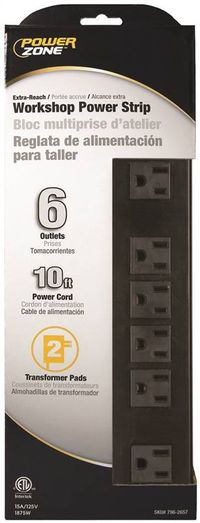 PZ OUTLET STRIP 10'CORD