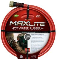 "5/8""X25' RED RBR HOT WATER HOSE"