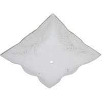 "12"" SQUARE FROSTED CEILING DIFFU"