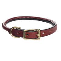 Mendota Rolled Leather Collar