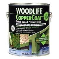 Rust-Oleum 01901 Coppercoat Wood Preservative, 1-Gallon, Green